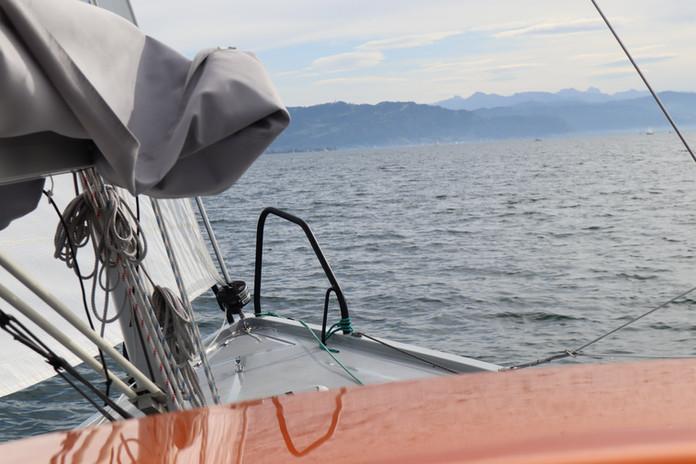 BENTE 24 - sailing on the lake