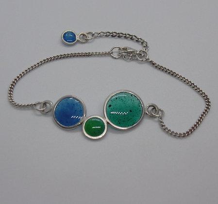 Seaside Blues Bubble Bracelet