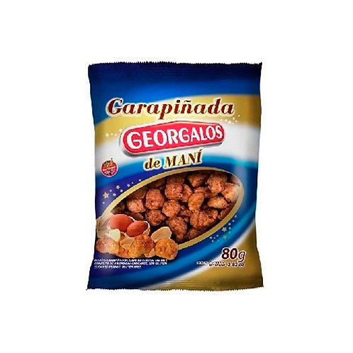 GARAPIÑADA DE MANI - GEORGALOS 80 gr.