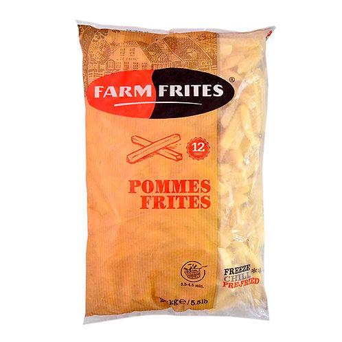 PAPAS PRE FRITAS 12MM - FARM FRITES 2,5 kg.