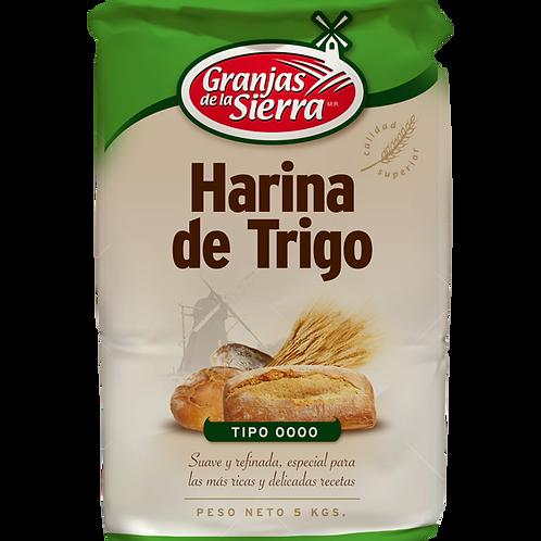 HARINA GRANJAS DE LA SIERRA 0000 5 kg.