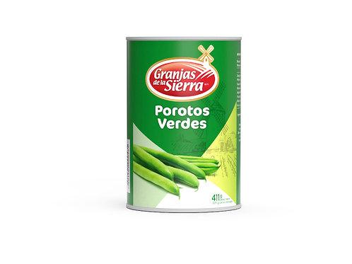 TARRO POROTOS VERDES GRANJAS DE LA SIERRA 411 gr.