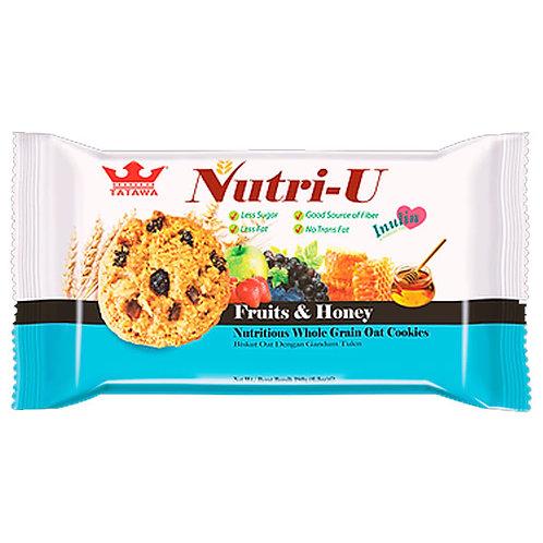 NUTRI-U FRUTAS Y MIEL - TATAWA 160gr.