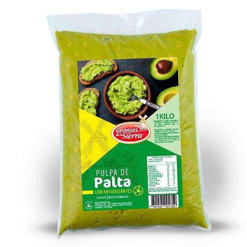 PULPA DE PALTA CON ANTIOXIDANTES GRANJAS DE LA SIERRA 1000 kg.