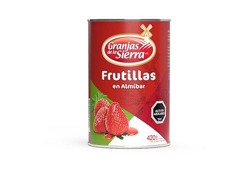 TARRO FRUTILLAS GRANJAS DE LA SIERRA 420 gr.