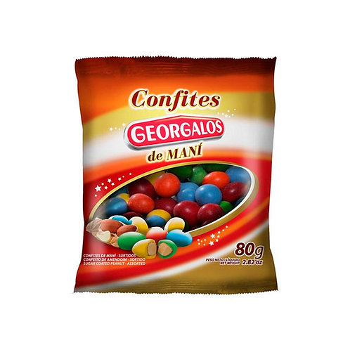 CONFITES DE MANÍ - GEORGALOS 80 gr.