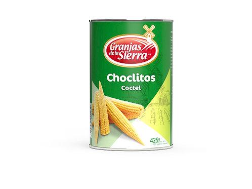 TARRO CHOCLITOS CÓCTEL GRANJAS DE LA SIERRA 425 gr.