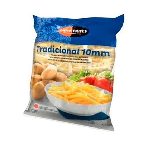 PAPAS PRE FRITAS 10MM - FARM FRITES 1,1 kg.