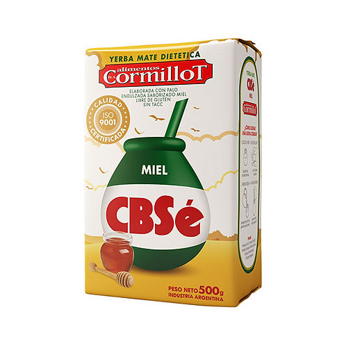 YERBA MATE MIEL - CBSé 500 gr.
