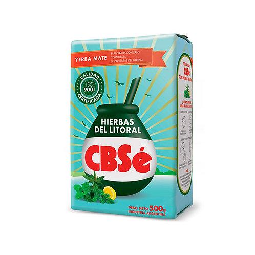 YERBA MATE HIERBAS DEL LITORAL - CBSé 500 gr.