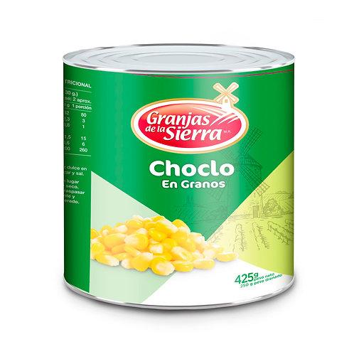 TARRO CHOCLO EN GRANOS GRANJAS DE LA SIERRA 425 gr.