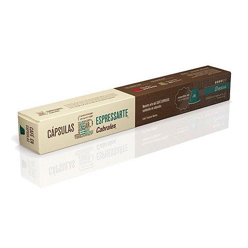 CÁPSULAS ESPRESSARTE CABRALES - DECISO X10