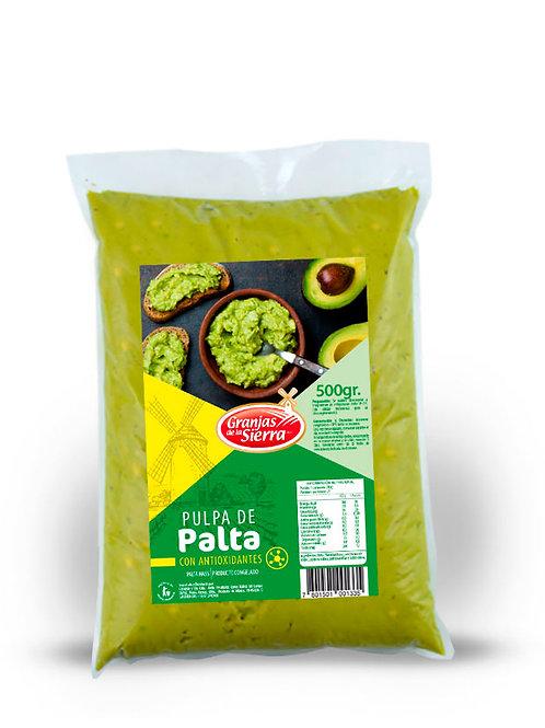 PULPA DE PALTA CON ANTIOXIDANTES GRANJAS DE LA SIERRA 500 gr.