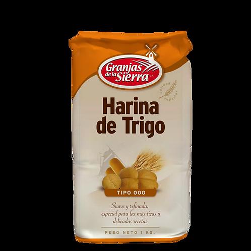 HARINA GRANJAS DE LA SIERRA 000 1 kg.