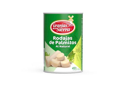 TARRO RODAJAS DE PALMITOS GRANJAS DE LA SIERRA 410 gr.