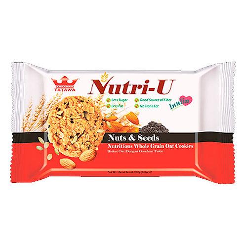 NUTRI-U NUECES Y SEMILLAS - TATAWA 160gr.
