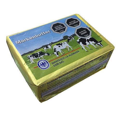 MANTEQUILLA MARKENBUTTER C/SAL 250 gr.