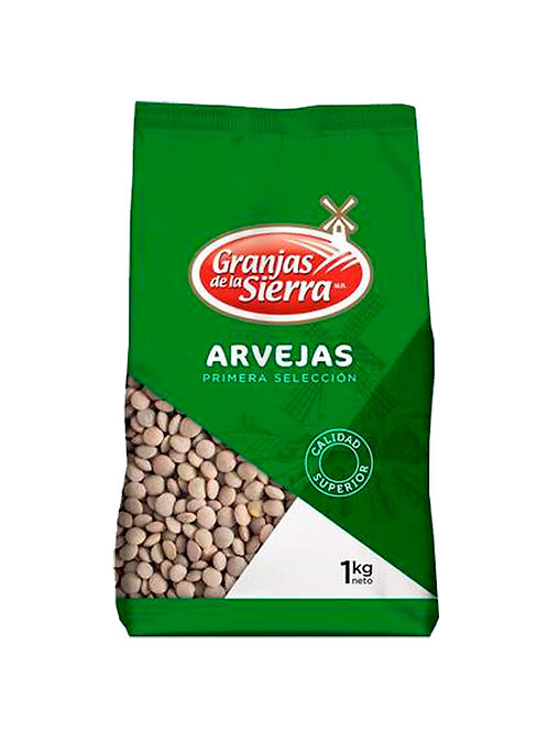 ARVEJAS GRANJAS DE LA SIERRA 1 Kg.