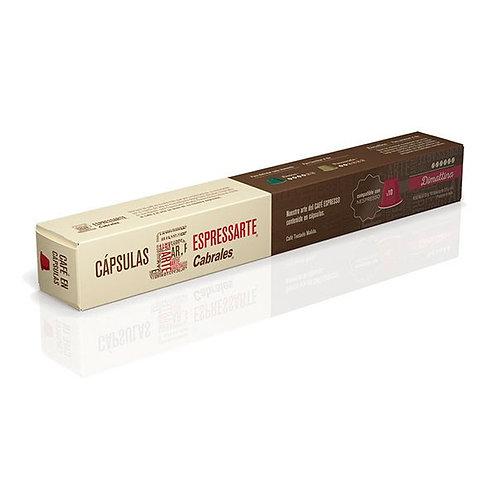 CÁPSULAS ESPRESSARTE CABRALES - DIMATTINA X10