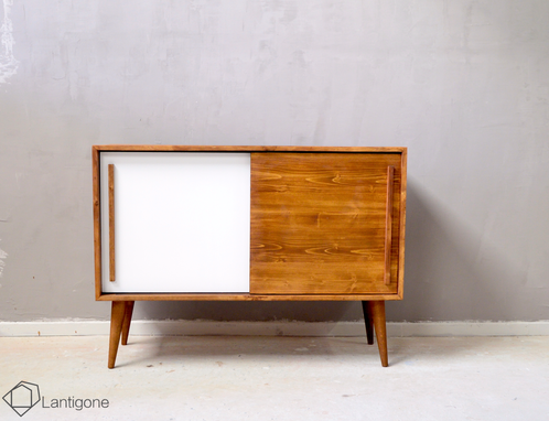 Meuble tv enfilade sideboard esprit vintage 4 meubles - Meuble made in france ...