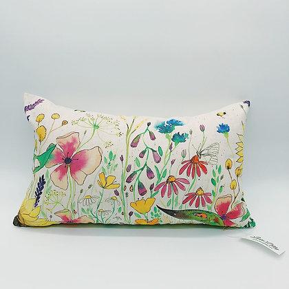 Rectangular Cushion - Wild Flowers