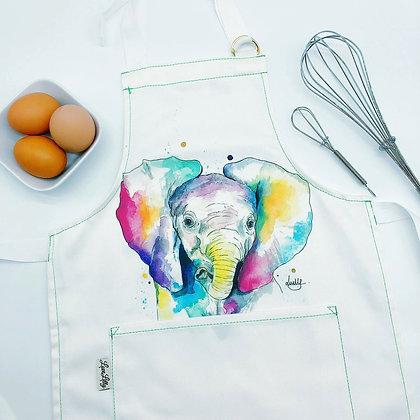 Child's Apron - Ellie Elephant