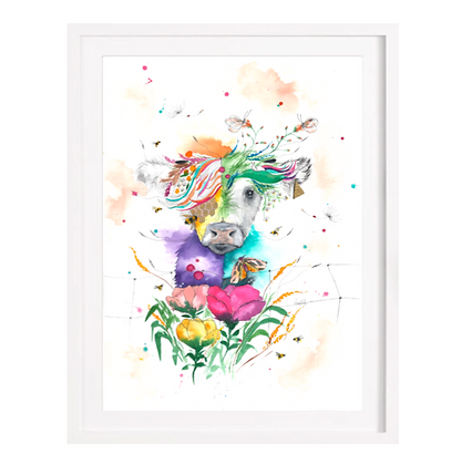Cow Limited Edition Print (Unframed)