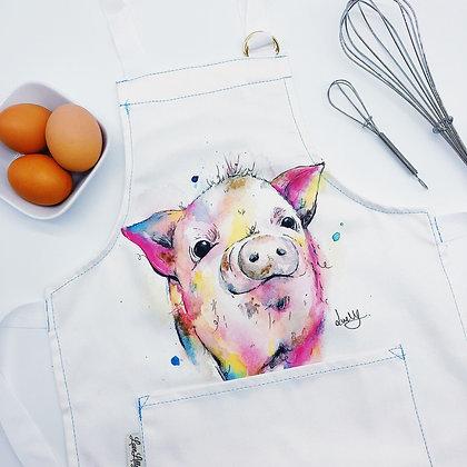 Child's Apron - Peter Pig