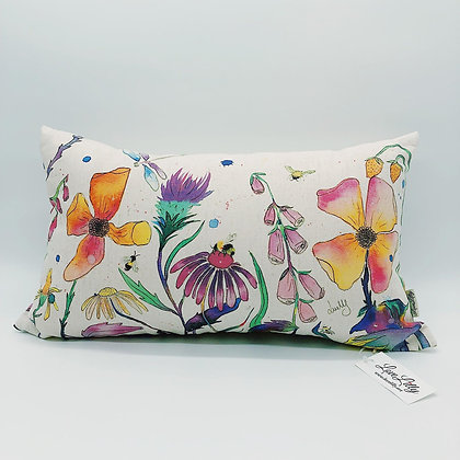 Rectangular Cushion - Flower Meadow
