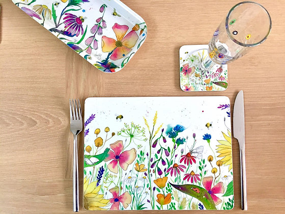 Place Mats - Wild Flowers - Pack of 4