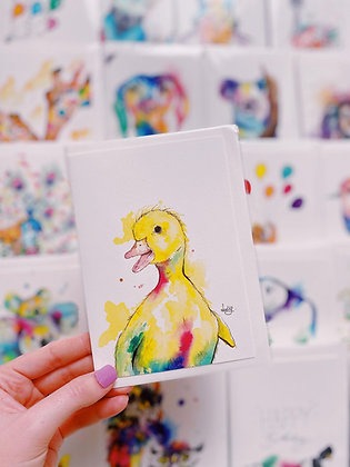 Greetings cards - Dotty Duck