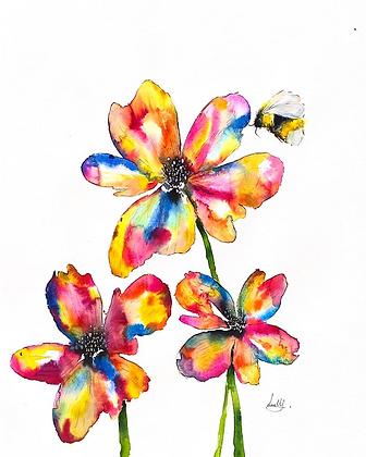Original Rainbow Flowers