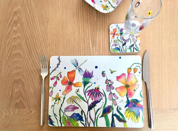 Place Mats - Flower Meadow - Pack of 4