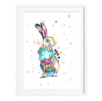 Hare Limited Edition Print (Unframed)