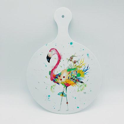 Chopping Board - Flamingo