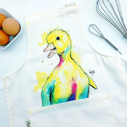 Child's Apron - Dotty Duck