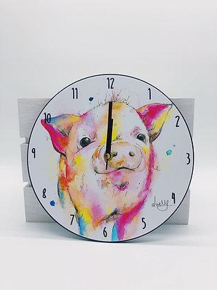 Peter Pig Clock