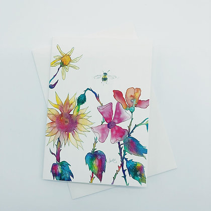 Greetings cards - Fabulous Flowers