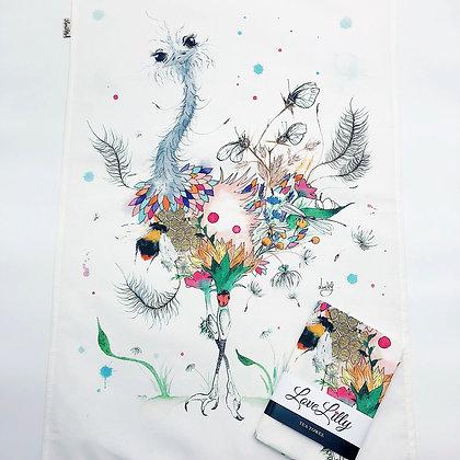 Tea Towel - Ostrich