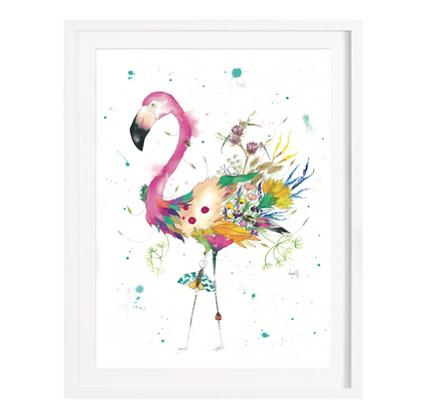 Flamingo Limited Edition Print (Unframed)