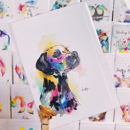 Greetings card -Dalmatian