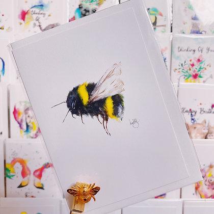 Greetings card - Bumble Bee
