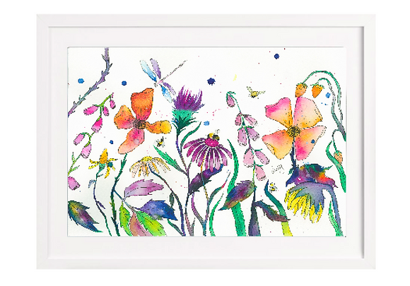Flower Meadow Limited Edition Print (Unframed)