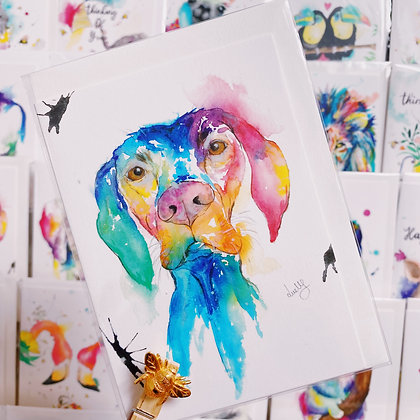 Greetings cards - Handsome Hound