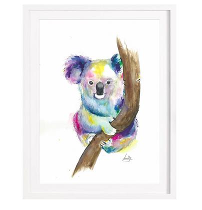 Colourful Koala A3 and A4 (Unframed)