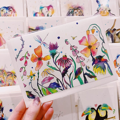 Greetings cards - Flower Meadow