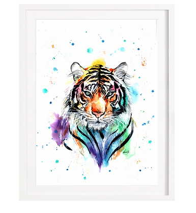 Tiger A3 (Unframed)