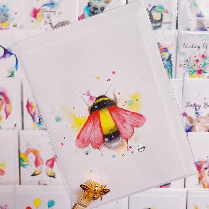 Greetings card - Bee Loved