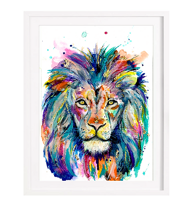 Lion  A3 (Unframed)