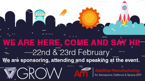 GROW's CEO speaks at Additive Manufacturing for Aerospace, Defence and Space 2017